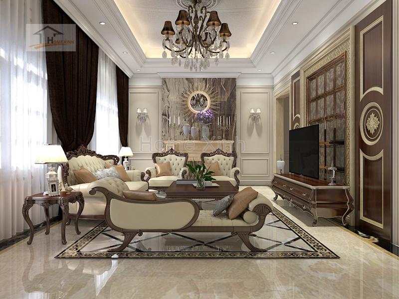 Thiết kế nội thất tân cổ điển và những điều cần lưu ý