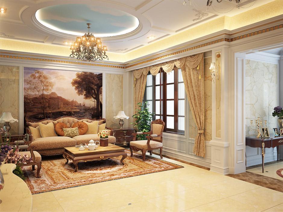 Một bức tranh to và một chiếc thảm thổ cẩm làm cho căn phòng trở nên sang trọng hơn bao giờ hết!