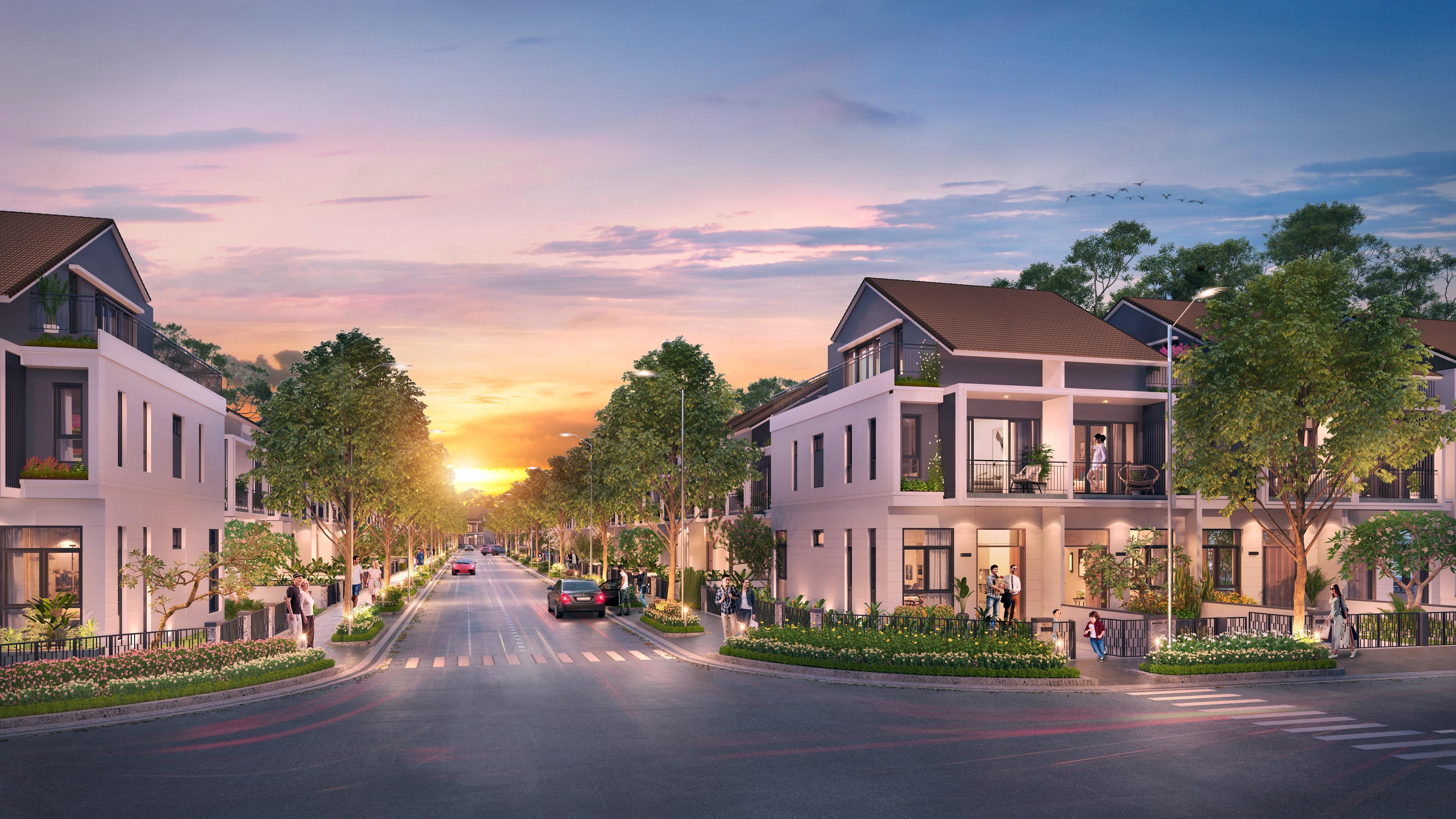 Shophouse và nhà phố thương mại Gem Sky World thu hút nhà đầu tư