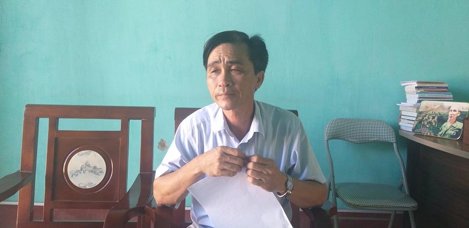 Ông Nguyễn Anh Hùng, Phó Chủ tịch UBND xã Tân Trường.