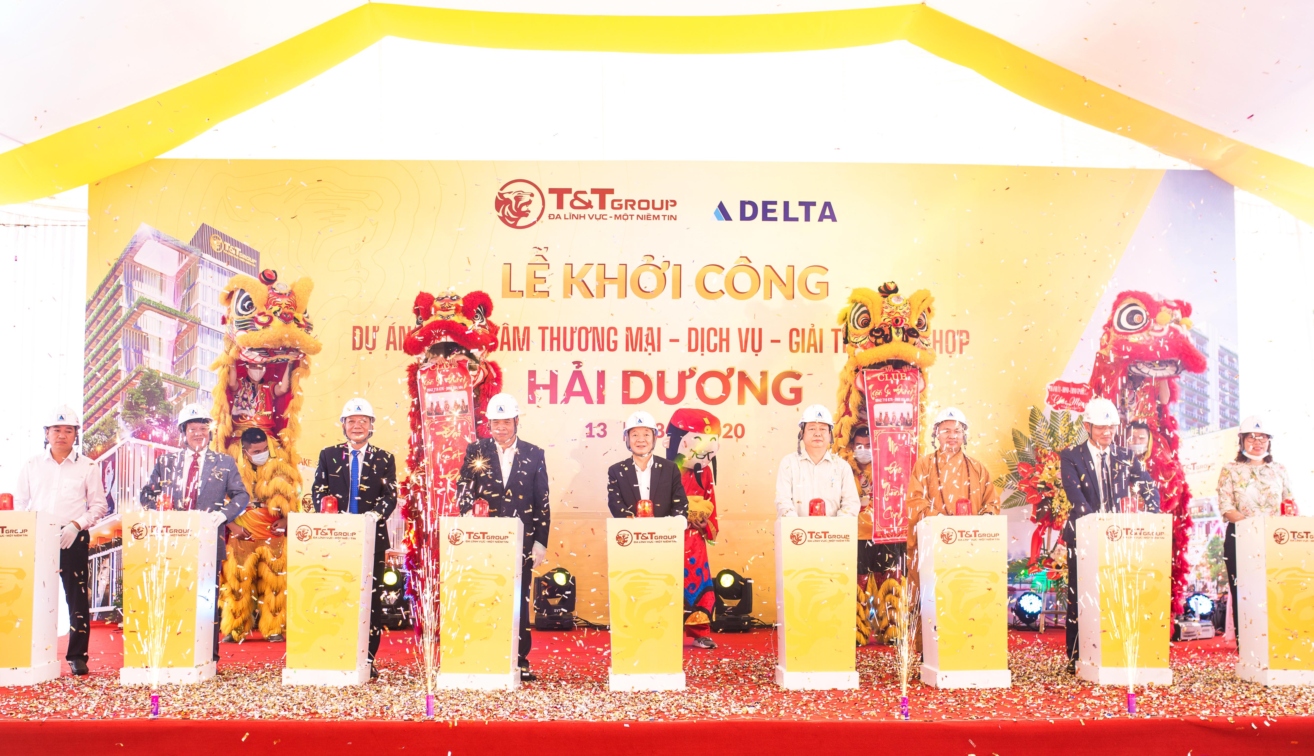 T&T Group khởi công xây dựng TTTM tại trung tâm TP. Hải Dương