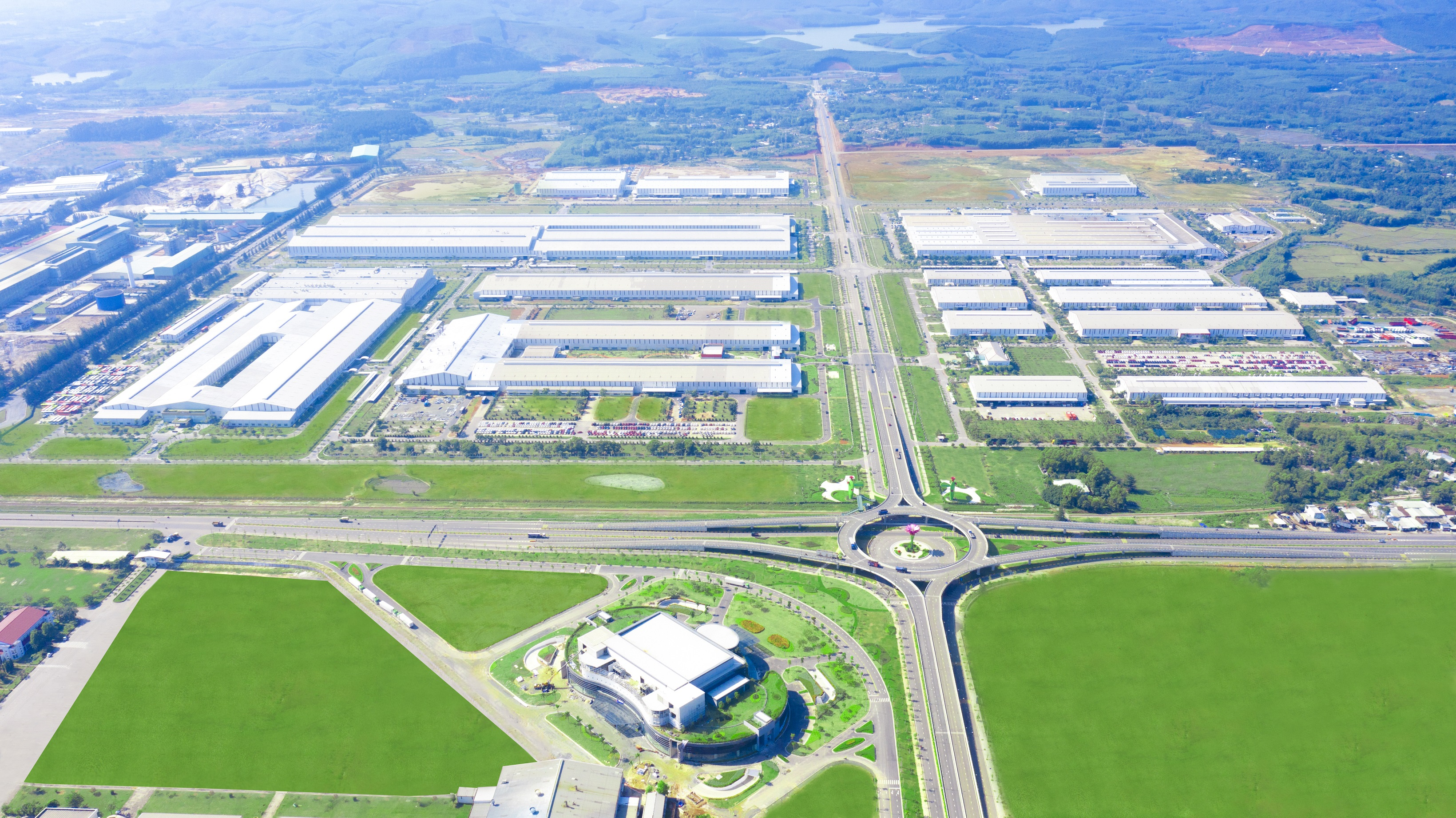 Khu công nghiệp sản xuất LKPT THACO Chu Lai