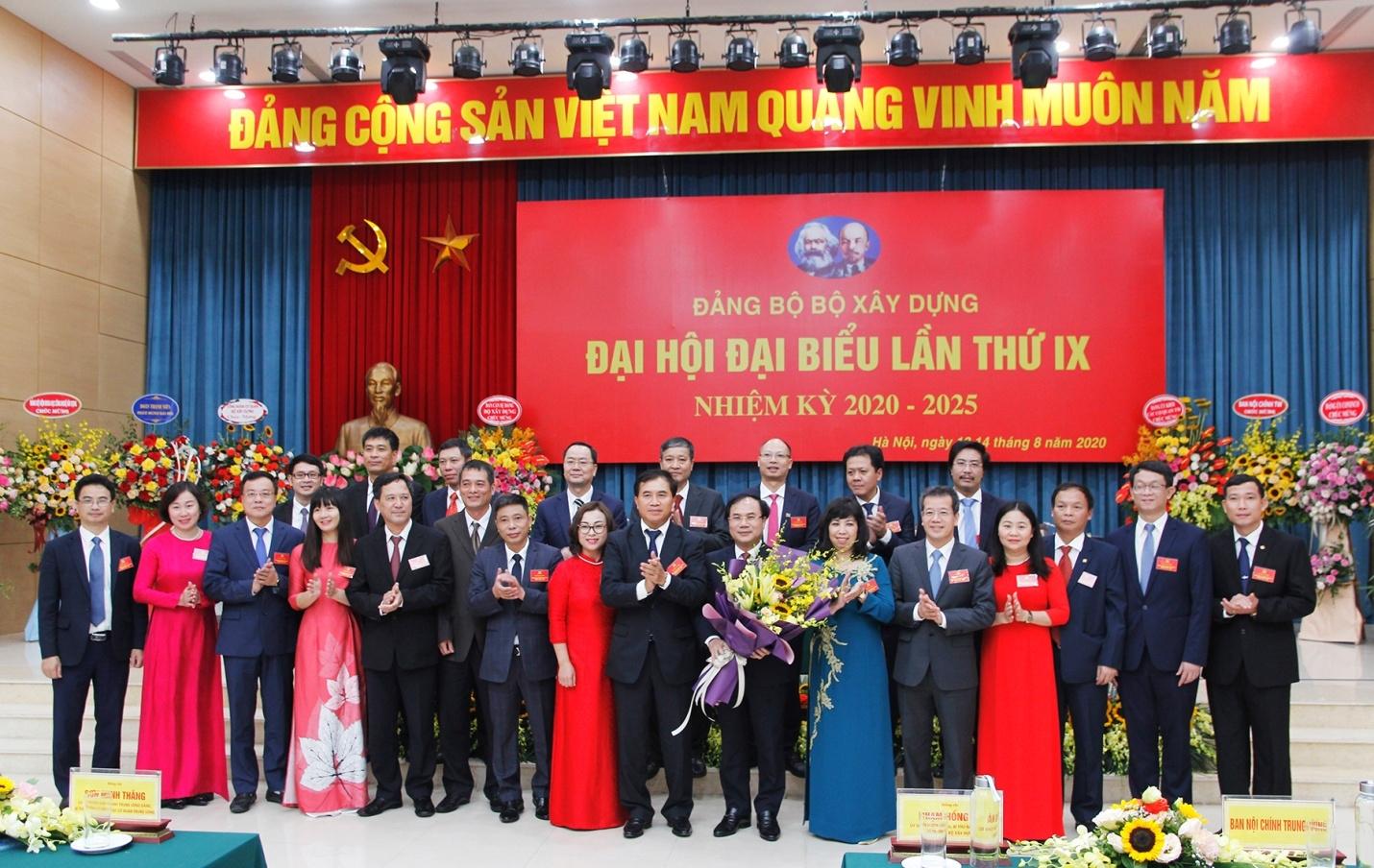 Thứ trưởng Nguyễn Văn Sinh làm Bí thư Đảng ủy Bộ Xây dựng nhiệm kỳ 2020 - 2025