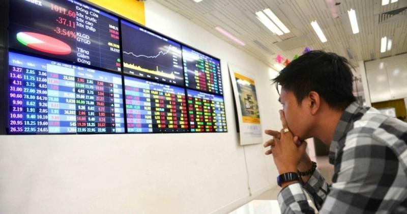 Thị trường điều chỉnh trong phiên 14/8, hàng loạt cổ phiếu BĐS giảm sâu