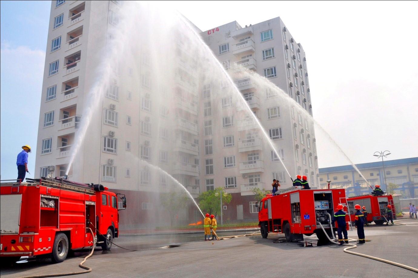 Công an Hà Nội phát hiện nhiều chung cư không đảm bảo về PCCC
