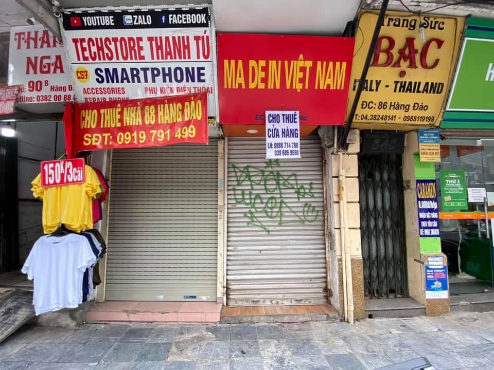 Bất động sản cho thuê tại phố cổ Hà Nội đã đến lúc phải thay đổi