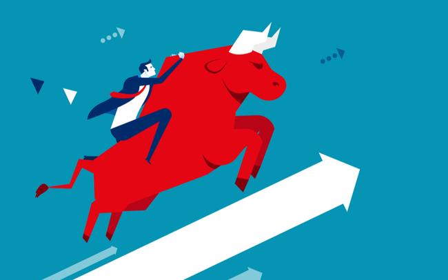 Cổ phiếu bất động sản đua nhau tăng giá trong phiên, VN-Index lên gần 14 điểm