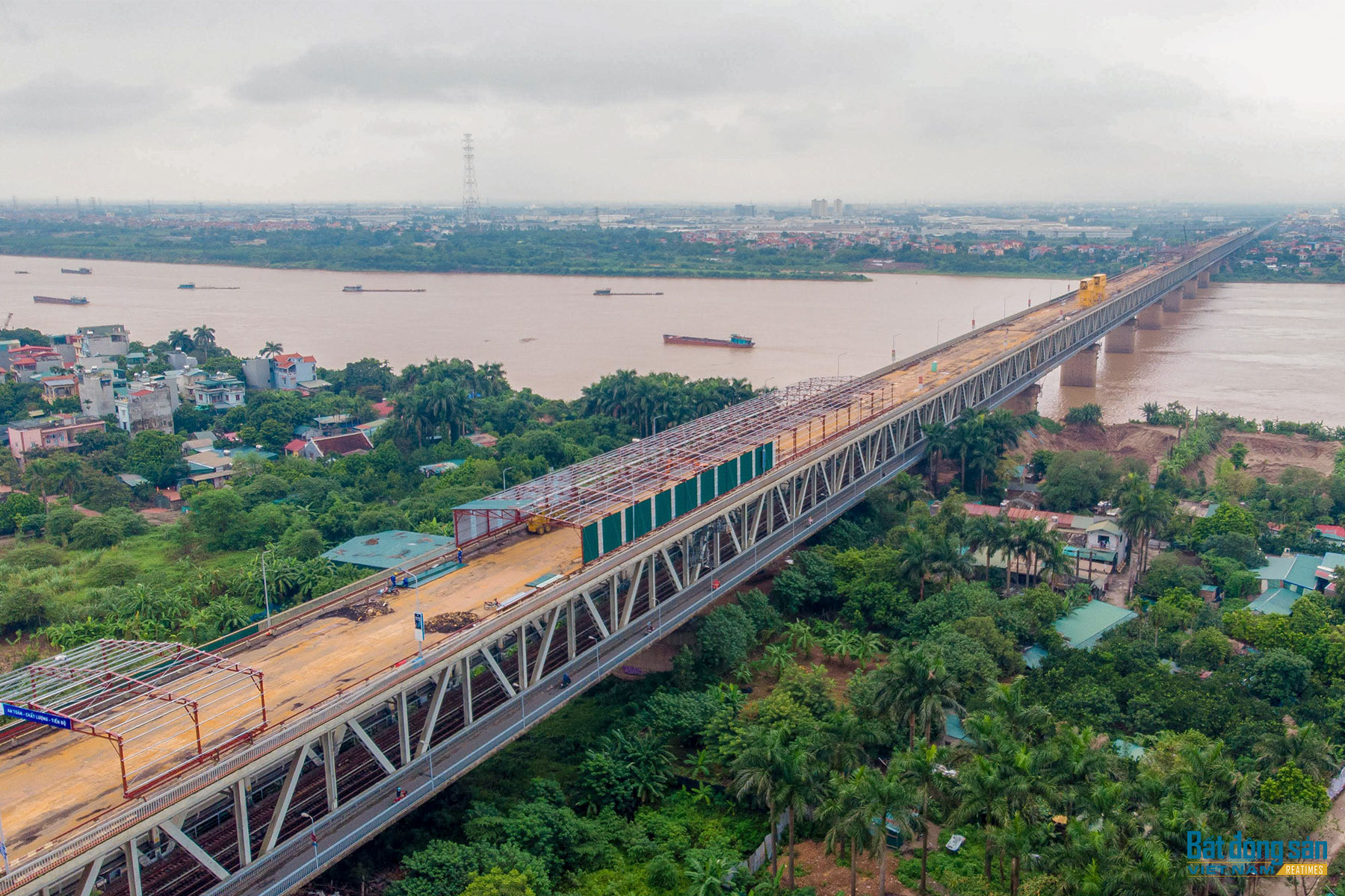 Dự án sửa chữa cầu Thăng Long sau 2 tuần thi công ra sao?