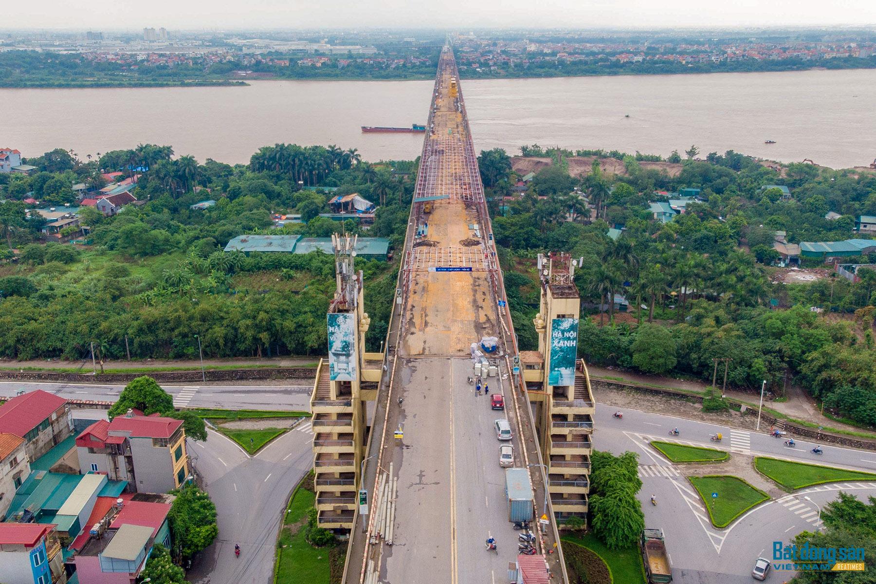 Reatimes_14.png, toàn cảnh dự án sửa cầu Thăng Long
