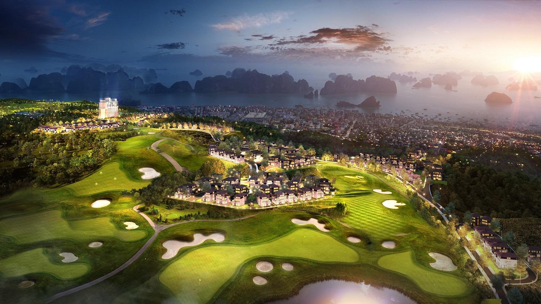 Được xây dựng trên triền đồi Văn Nghệ với độ cao hơn 100m so với mặt nước biển, FLC Grand Villa Halong sở hữu tầm nhìn đắt giá khi bao quát khung cảnh kỳ vĩ của Hạ Long trong tầm mắt.