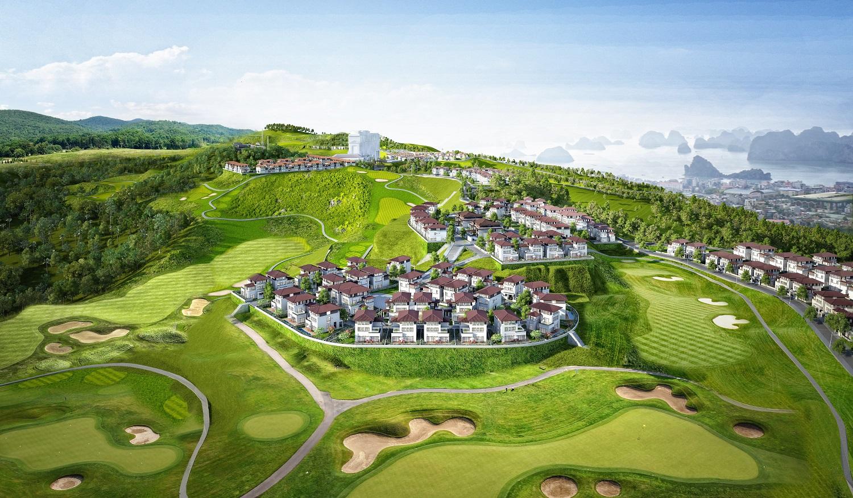 """Ngắm trọn Hạ Long từ khu biệt thự sân golf """"có một không hai"""" tại Quảng Ninh"""