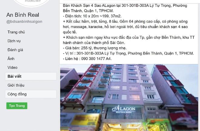 Bất động sản TP.HCM: Hàng loạt khách sạn trăm tỷ được chào bán