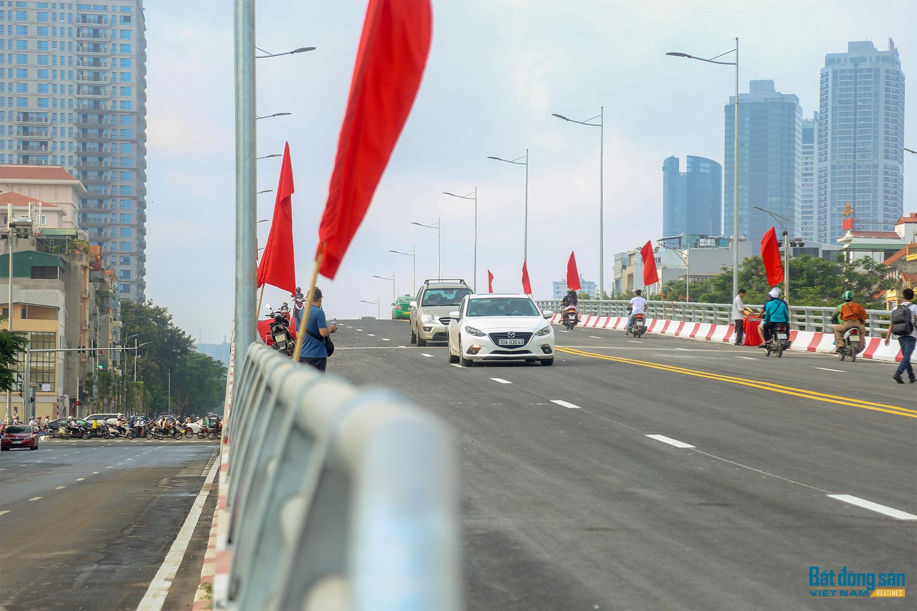 Khánh thành công trình hơn 500 tỷ đồng kết nối 3 quận của Hà Nội