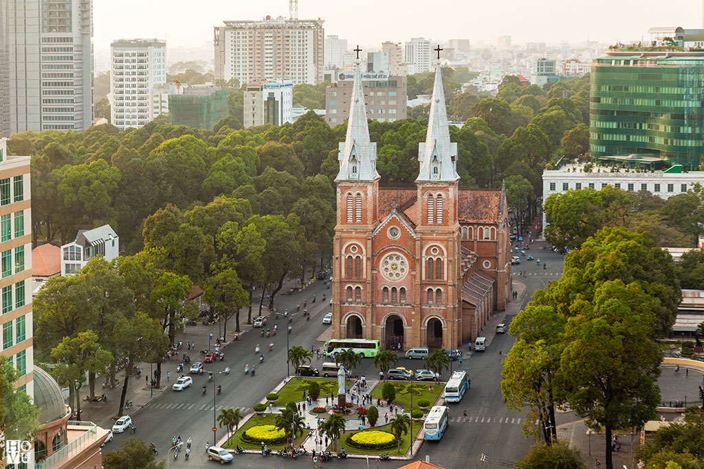 Nhà thờ Đức Bà - Ảnh: Hồ Vũ