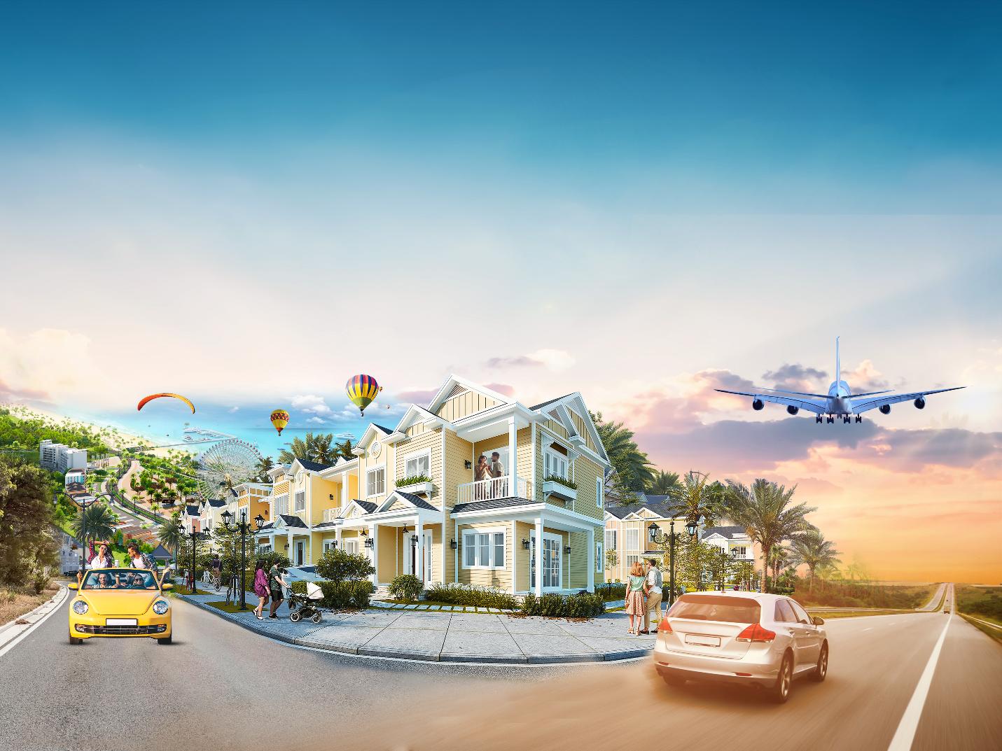 """Second home ven biển tại Phan Thiết, Bình Thuận được dự báo tạo """"làn sóng"""" đầu tư mới trên thị trường bất động sản (Ảnh: Mẫu second home tại NovaWorld Phan Thiet)"""