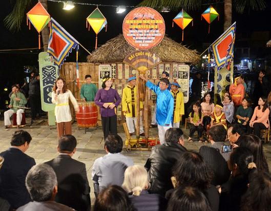 Bài Chòi là di sản văn hóa phi vật thể thế giới