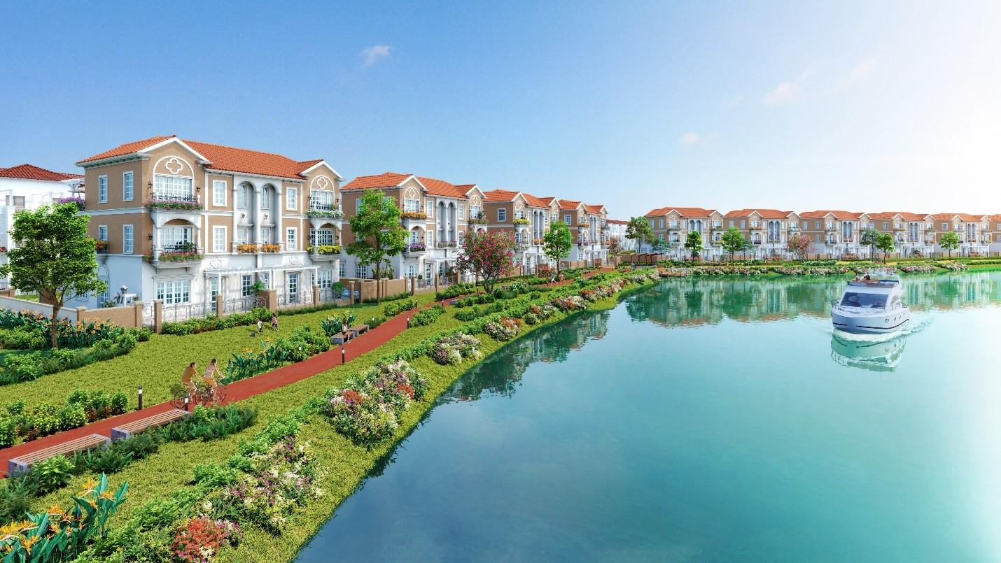 Không gian sống đa tiện ích tại phân khu cửa ngõ River Park 1