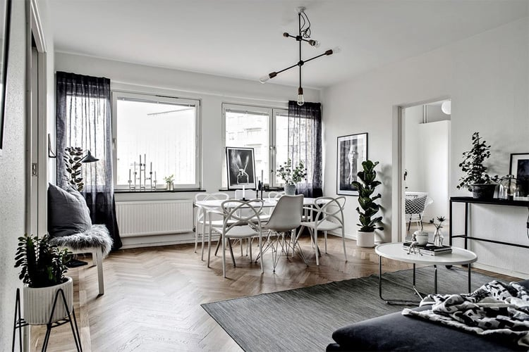 Đến thời điểm hiện tại, phong cách Scandinavian đã được tối giản hóa đi rất nhiều mang đến vẻ đẹp tinh tế và sang trọng