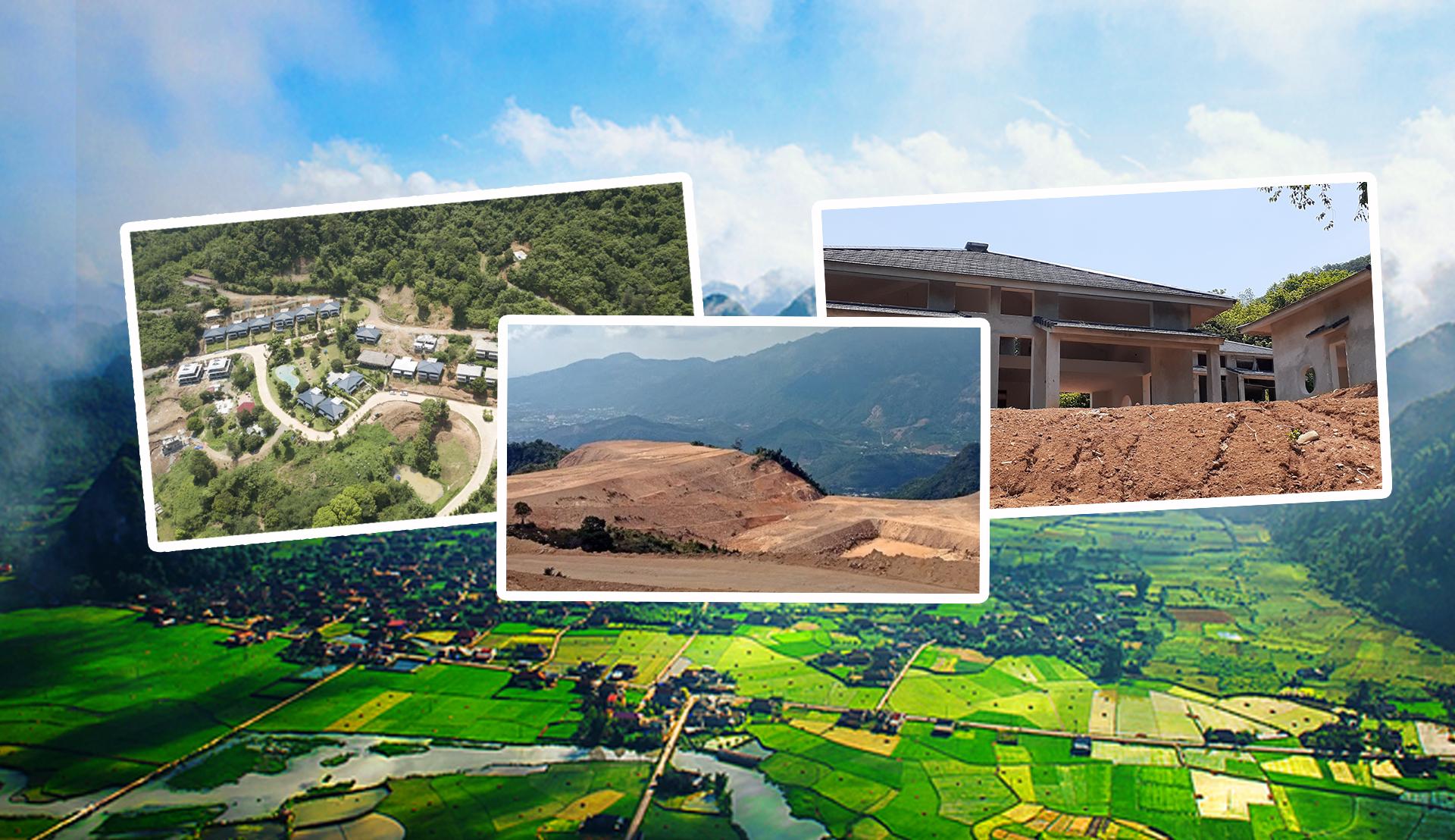 Buông lỏng quản lý đất đai tại Hoà Bình: Nhìn từ