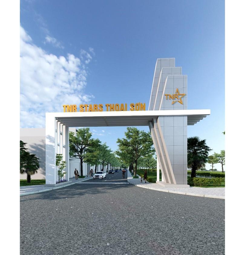Cổng chào dự án TNR Stars Thoại Sơn