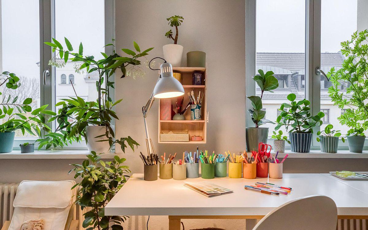 Ý tưởng bài trí không gian làm việc tại nhà