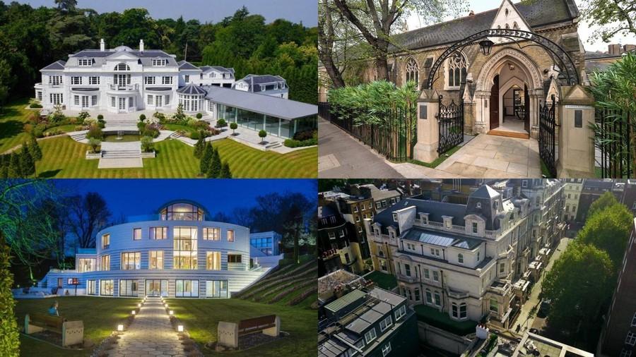 7 dinh thự đắt giá bậc nhất nước Anh