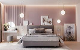 Những mẫu phòng ngủ màu hồng dành cho cô nàng mộng mơ