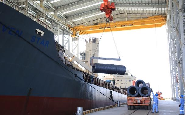 Thép Hòa Phát đạt sản lượng 300.000 tấn thành phẩm trong tháng 7